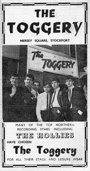 Toggery ad