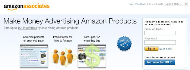 Join Amazon Affiliate Program