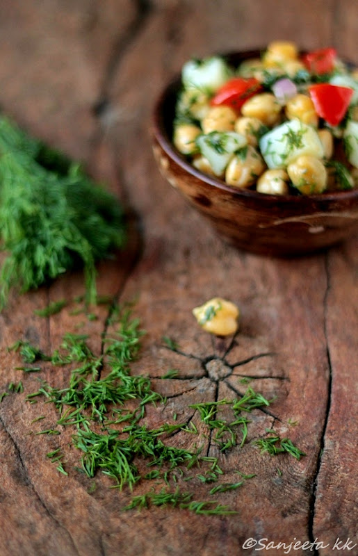 Recipe | healthy Chickpea Salad