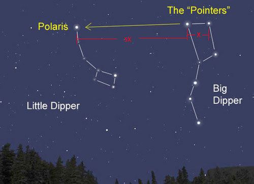 polaris star map - photo #3