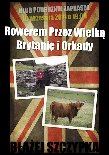 Rowerem przez Wielką Brytanię i Orkady - Błażej Szczypka