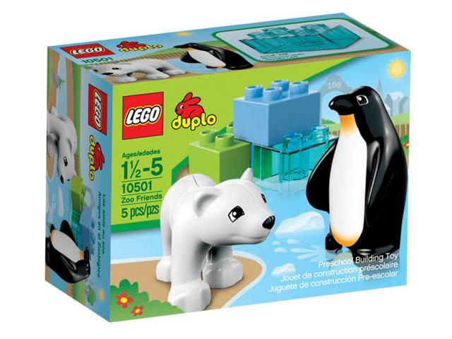 10501 レゴ しろくまとペンギン
