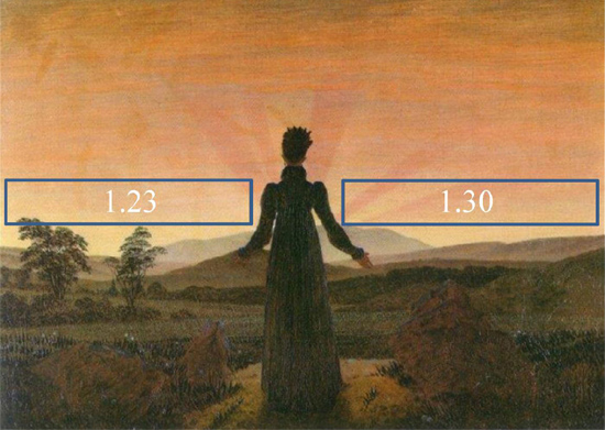 Eventos climáticos retratados en diversas obras de arte