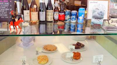 Menu at Glyph Café & Art Space for alcoholic drinks and some pastries