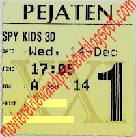 Spy Kids: All The Time In The World 4D Ticket