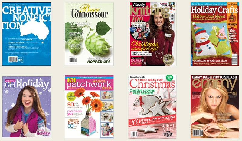 Craft Magazines from Zinio