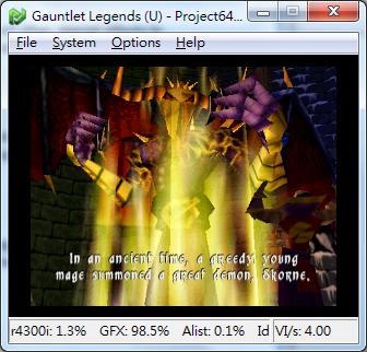 gauntlet legends project64 plugin