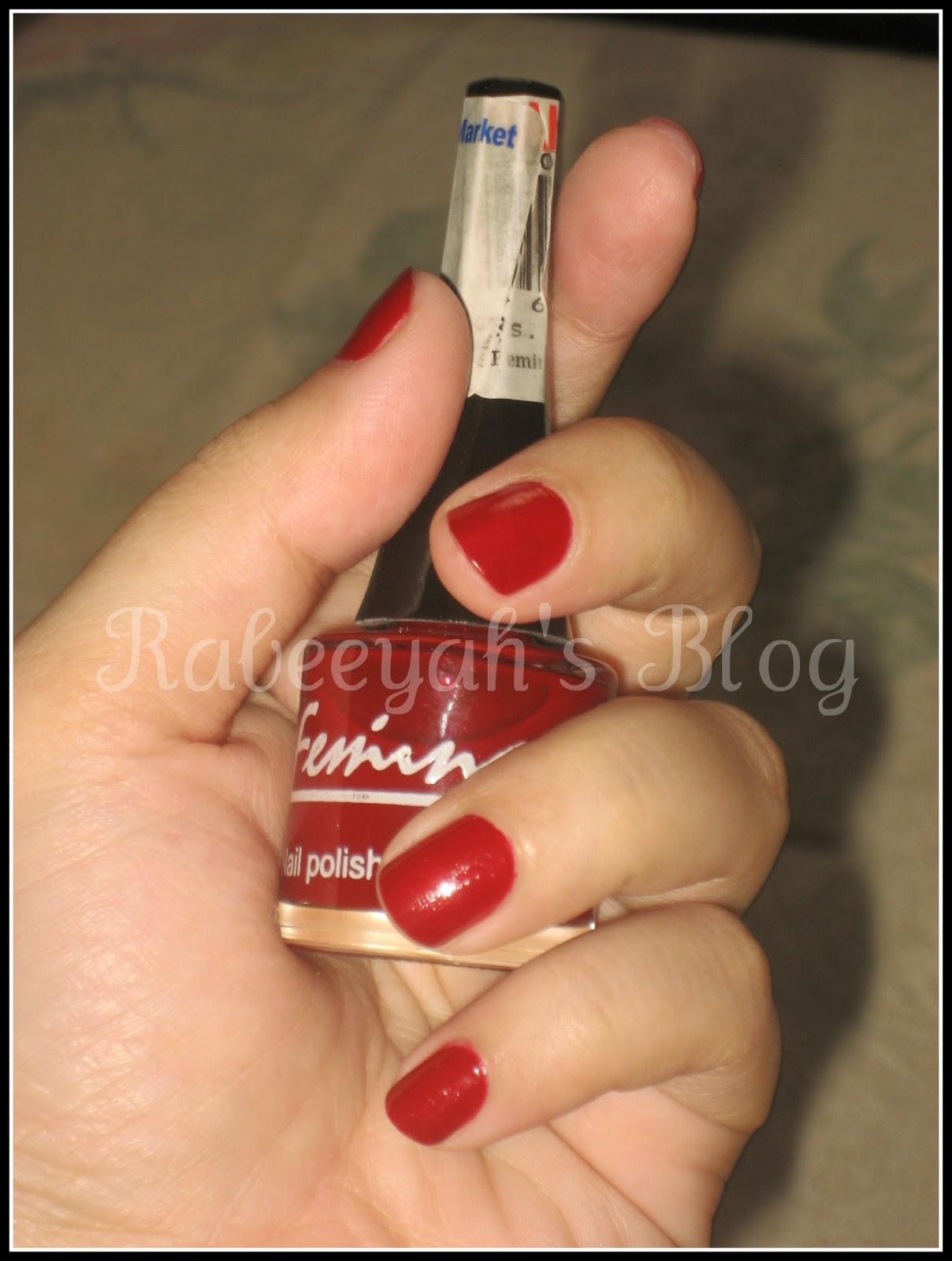 Review - Femina Nail Polishes