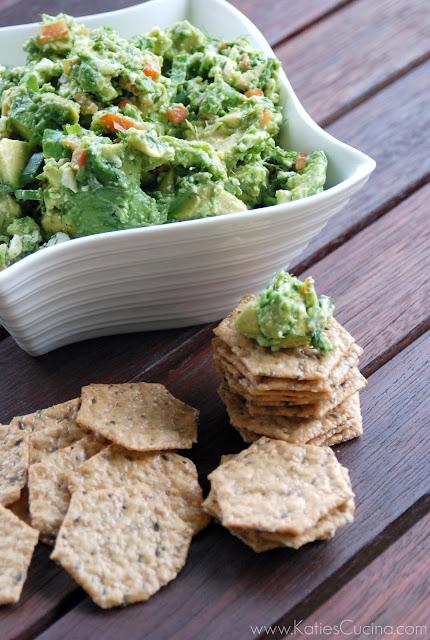 Avocado & Feta Dip from KatiesCucina.com