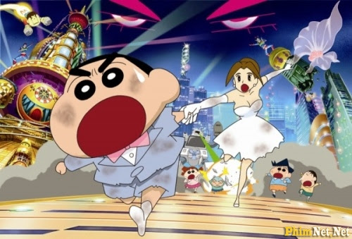 Shin Cậu Bé Bút Chì Và Vị Hôn Thê Đến Từ Tương Lai - Crayon Shin-chan Movie 18: Chou Jikuu! Arashi Wo Yobu Ora No Hanayome - Image 1
