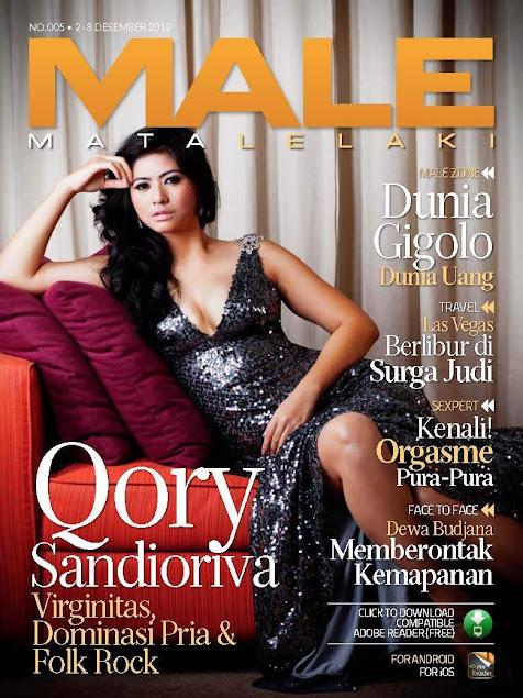 Majalah Male Edisi ke-Lima bersama Qory Sandioriva Virginitas, Majalah MALE Terbaru