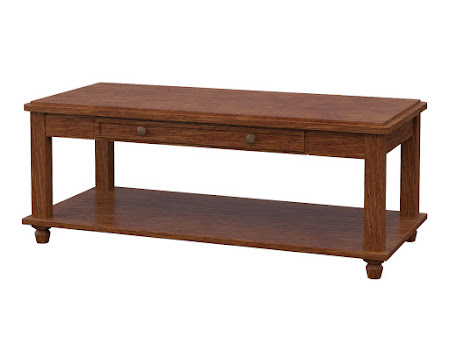 Lotus Coffee Table in Old Master Quarter Sawn Oak