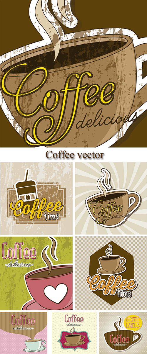 Stock: Coffee vector