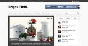 Bright-Field WordPress theme
