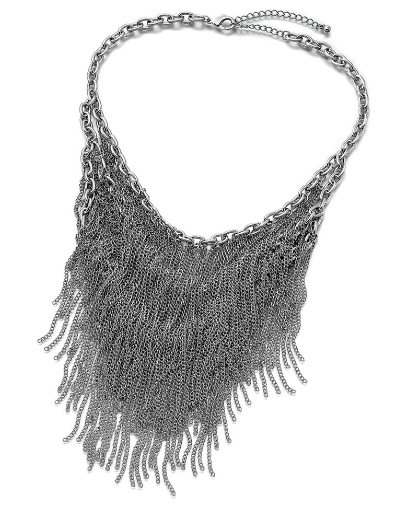 chain fringe necklace from Macy's http://www1.macys.com/