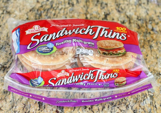 photo of a package of sandwich thins
