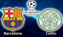 Barcelona Celtic online vivo Horaios 7 Noviembre