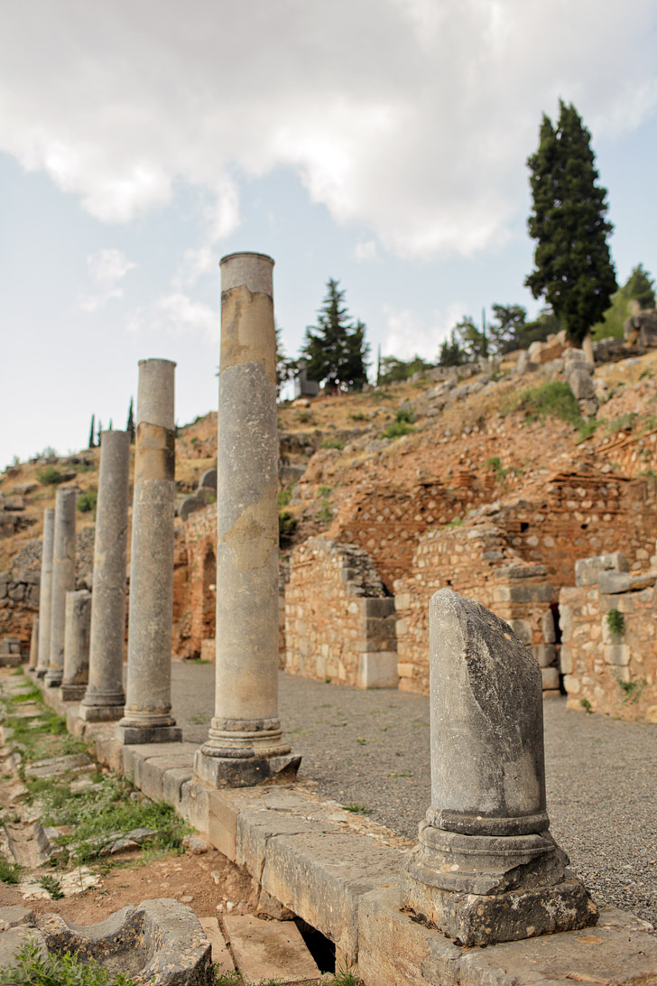 Delphi Greece Destinations.