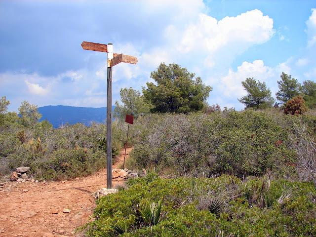 senderismo: Vall d'Uixò - Alt del Rodeno - Pipa PR-V 241