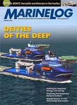 Marine Log 1/2014 edition - Free subscription.