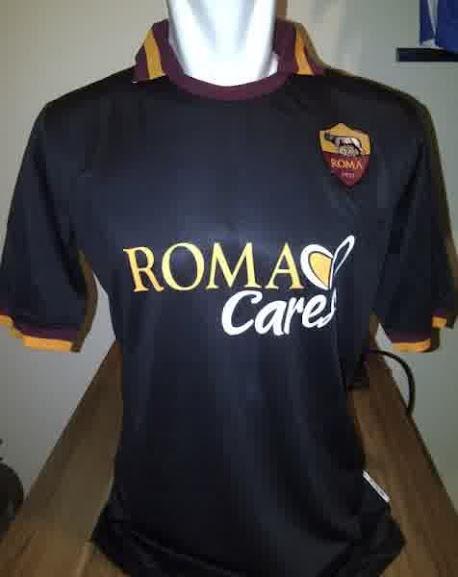 Jual Jersey AS Roma Warna Hitam 2014