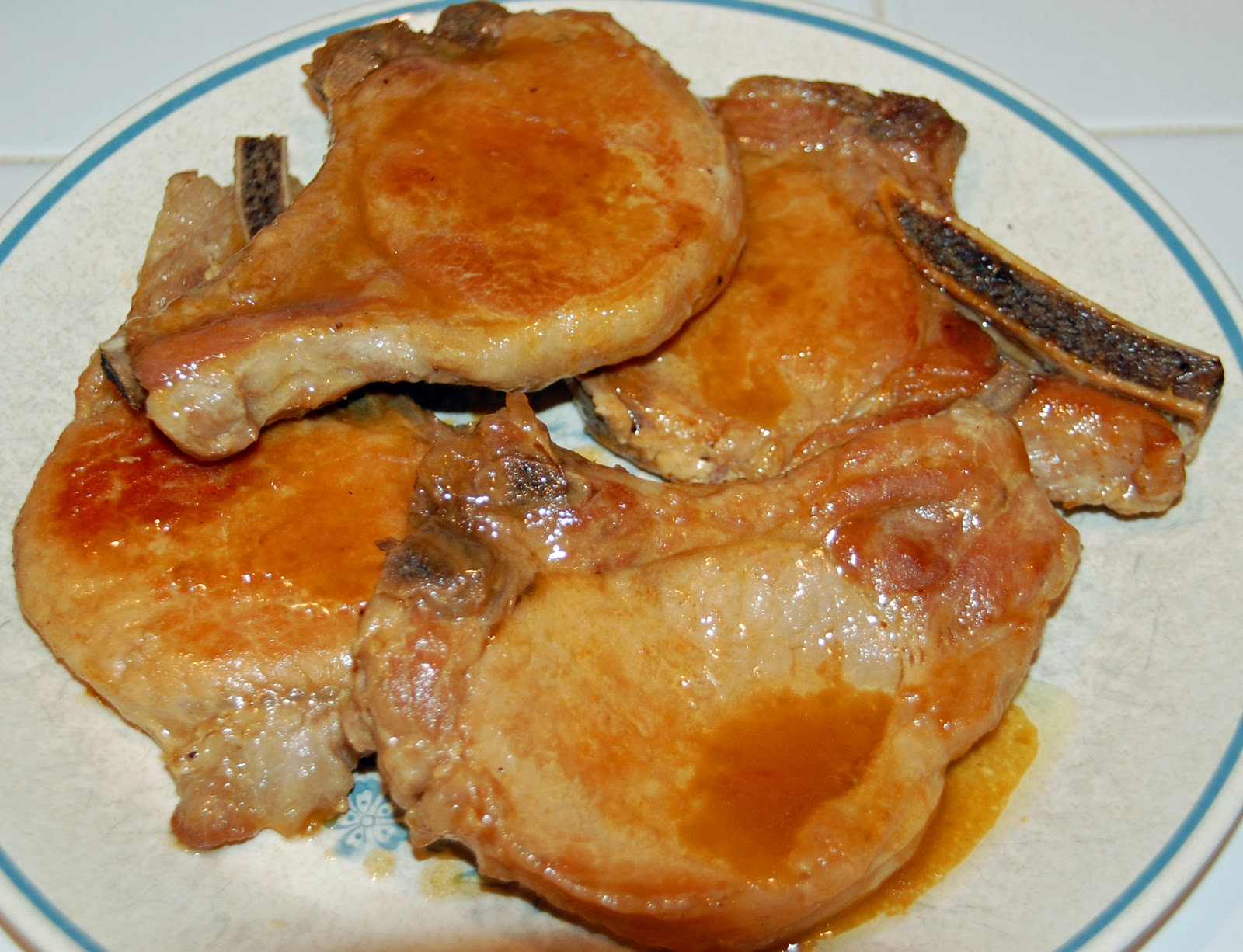 Southern Lady's Recipes: Braised Pork Chops