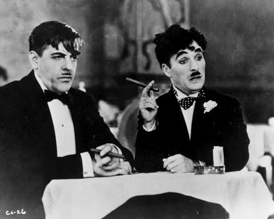 fragment uit Charlie Chaplins film