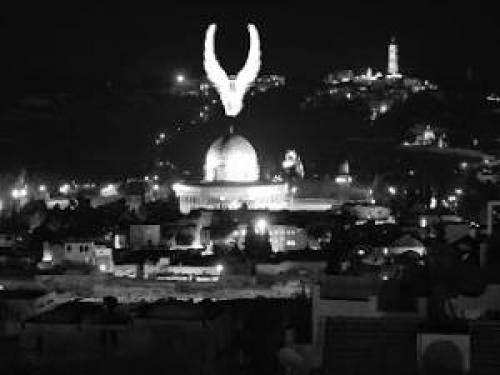Ufo Over Jerusalem
