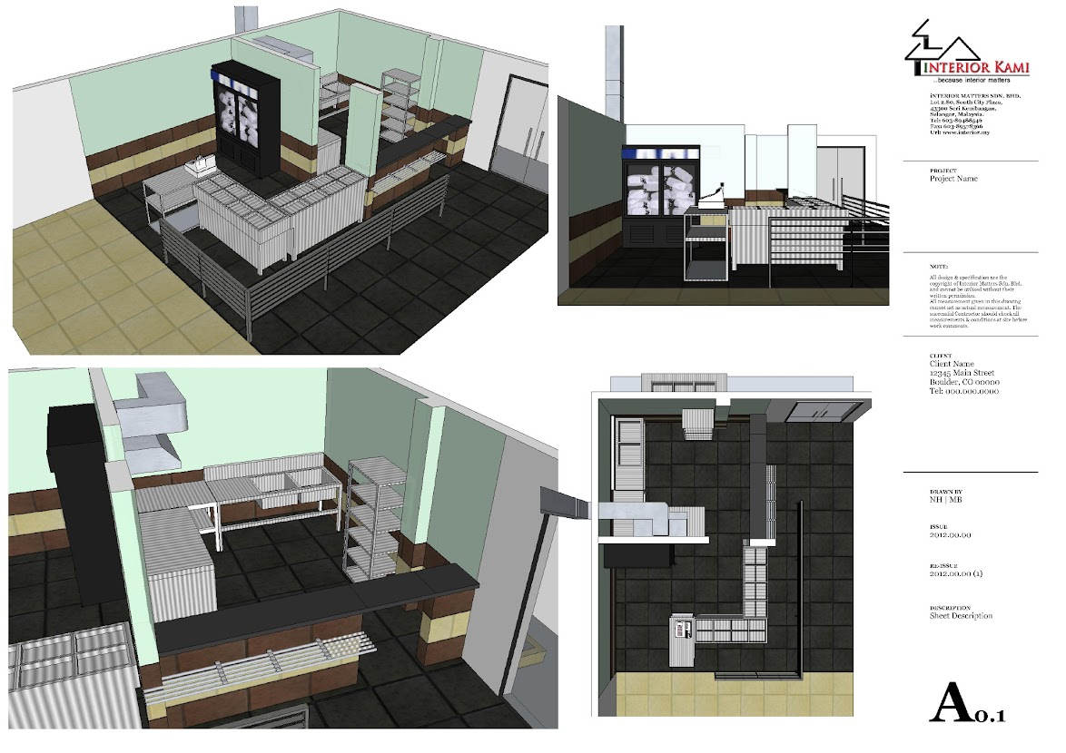Beranang, yih Factory office and canteen design and build on