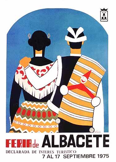 Cartel Feria Albacete 1975