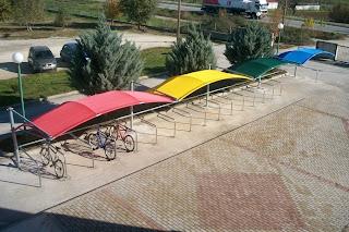 www.salonicaports.gr Στέγαστρα - Σκίαστρα - Υπόστεγα - Τέντες Σκέπαστρα Αυτοκινήτων