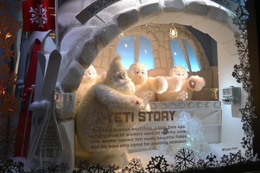 Рождественские витрины, Нью-Йорк