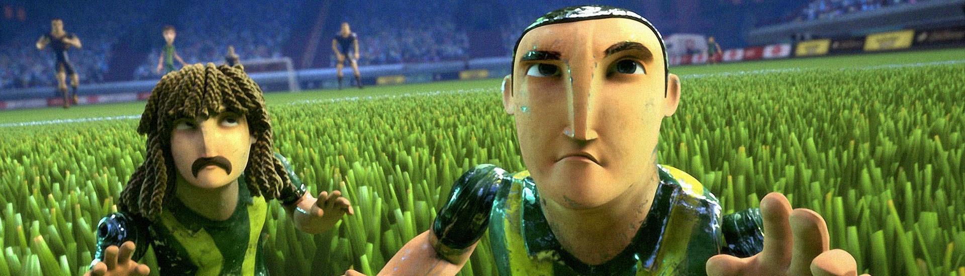 Baner filmu 'Piłkarzyki Rozrabiają'