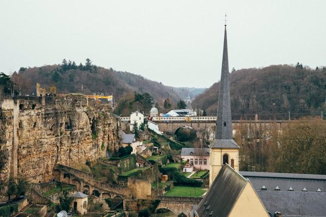 Chemin de la Corniche Luxemburg luxembourg stad
