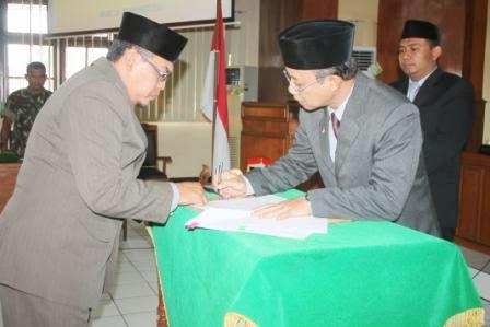rapat paripurna DPRD kabupaten Ngawi