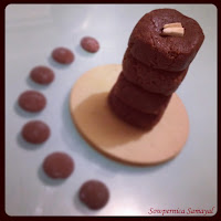 2 minute Chocolate Burfi