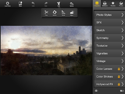 Tools and Categories in PhotoStudioHD