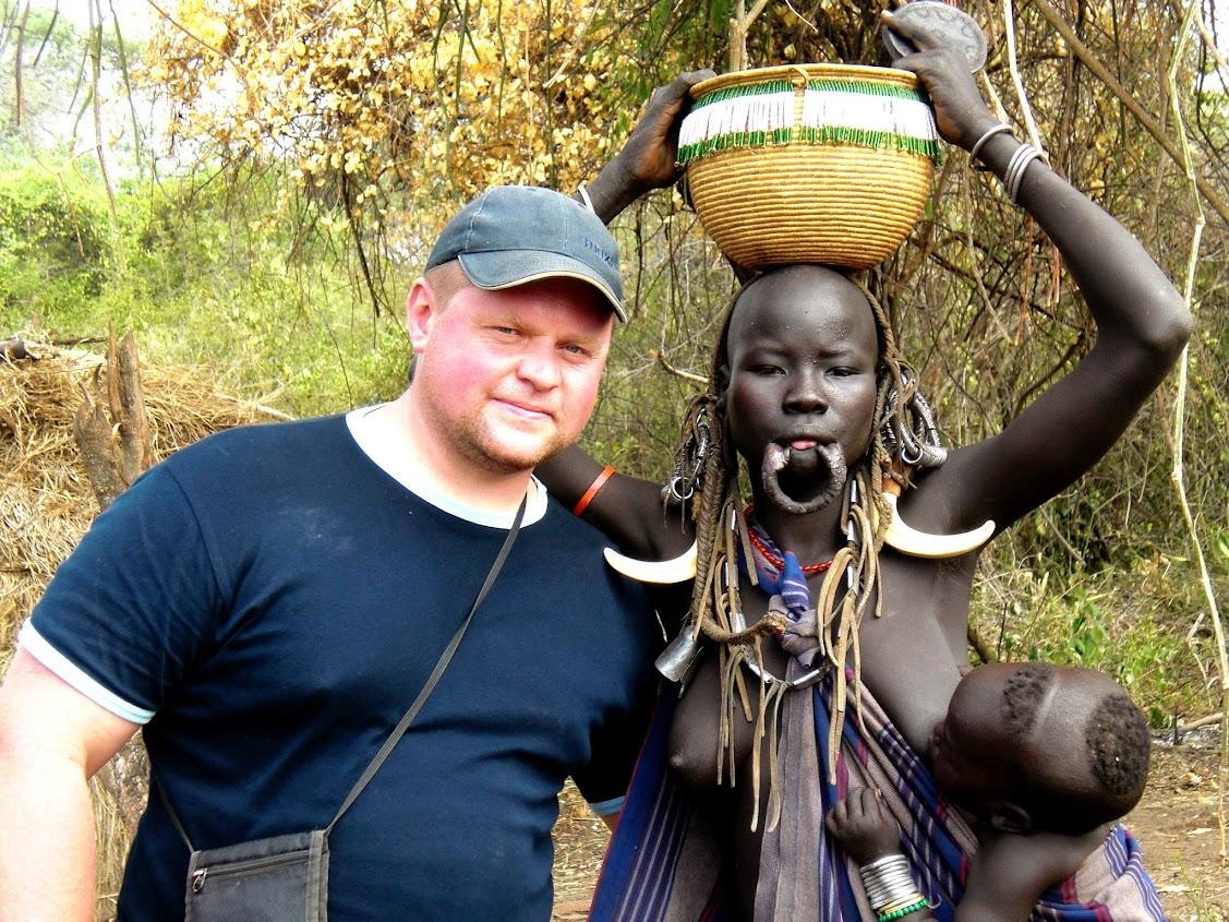 Kelione i Etiopija. Mursi gentis