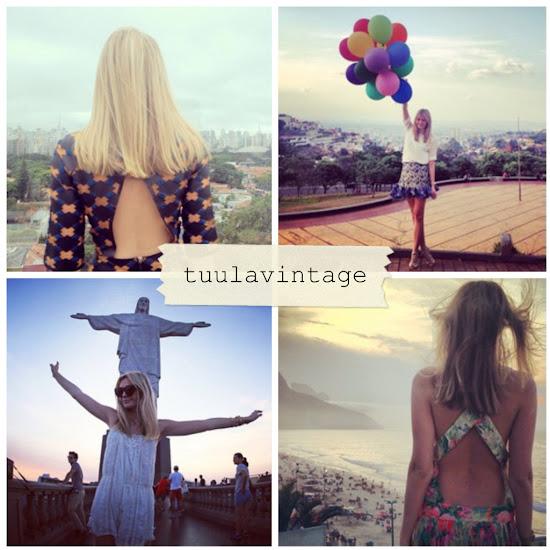 Tuula Vintage Fashion Blogger Instagram