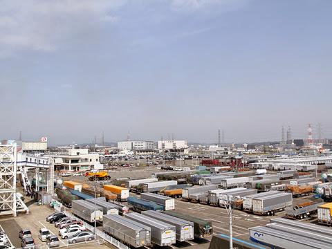 太平洋フェリー「いしかり」 仙台港