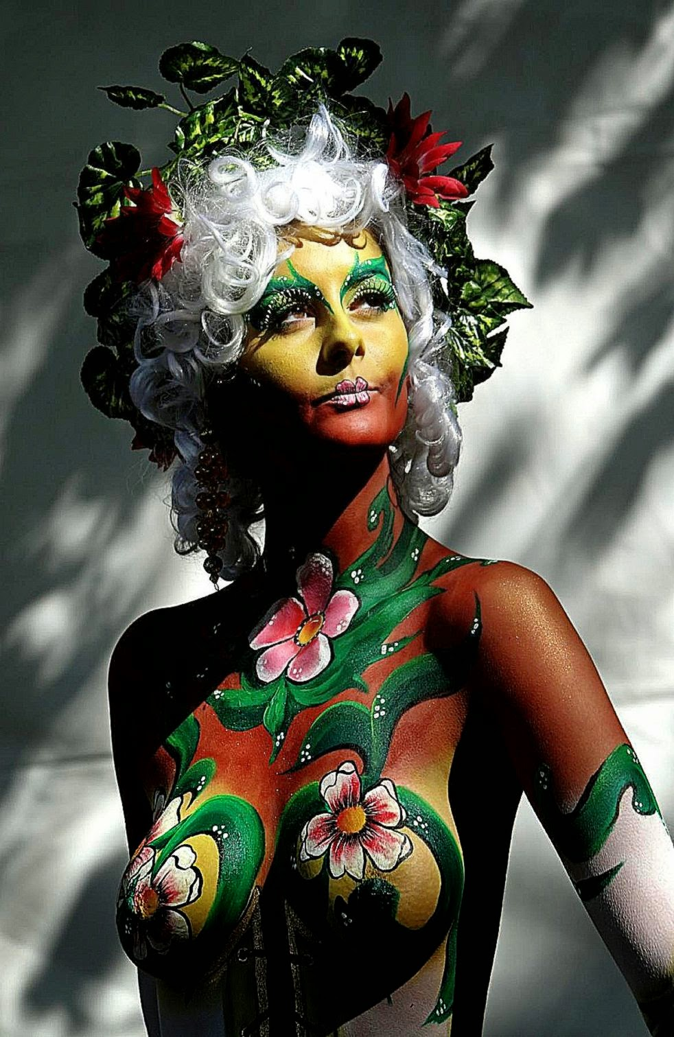 Festival Body Painting Body Painting Pictures