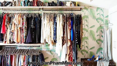 Thiết kế tủ quần áo: Một số thủ thuật giúp tăng diện tích để quần áo-5