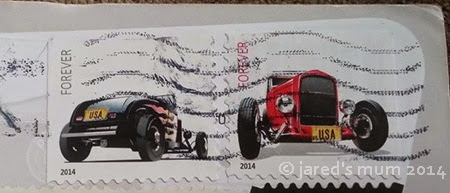 sunday stamps, stamps, USA