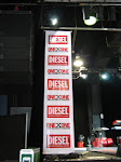 Stage banner for Diesel event