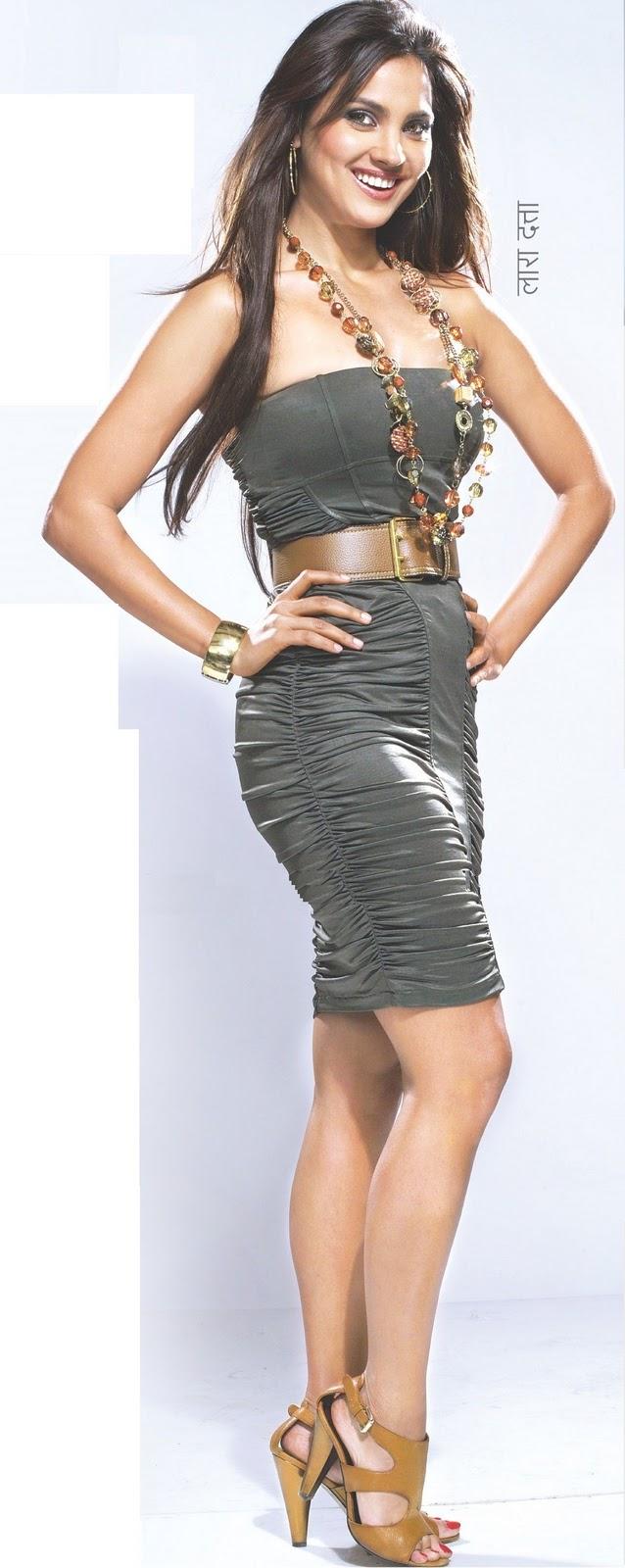 "Lara Dutta Hot Thigh and Leg Show Magazine Scan | ""Tamil South"" - Tamil Cinema Portal"