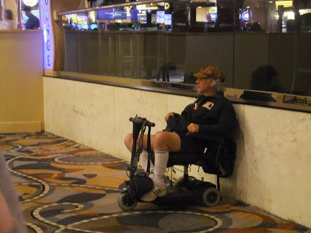 typical visitor of las vegas casino