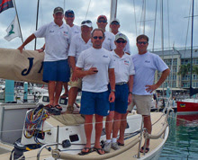 J/109 RUSH sailing team- Boat of the Day Tuesday