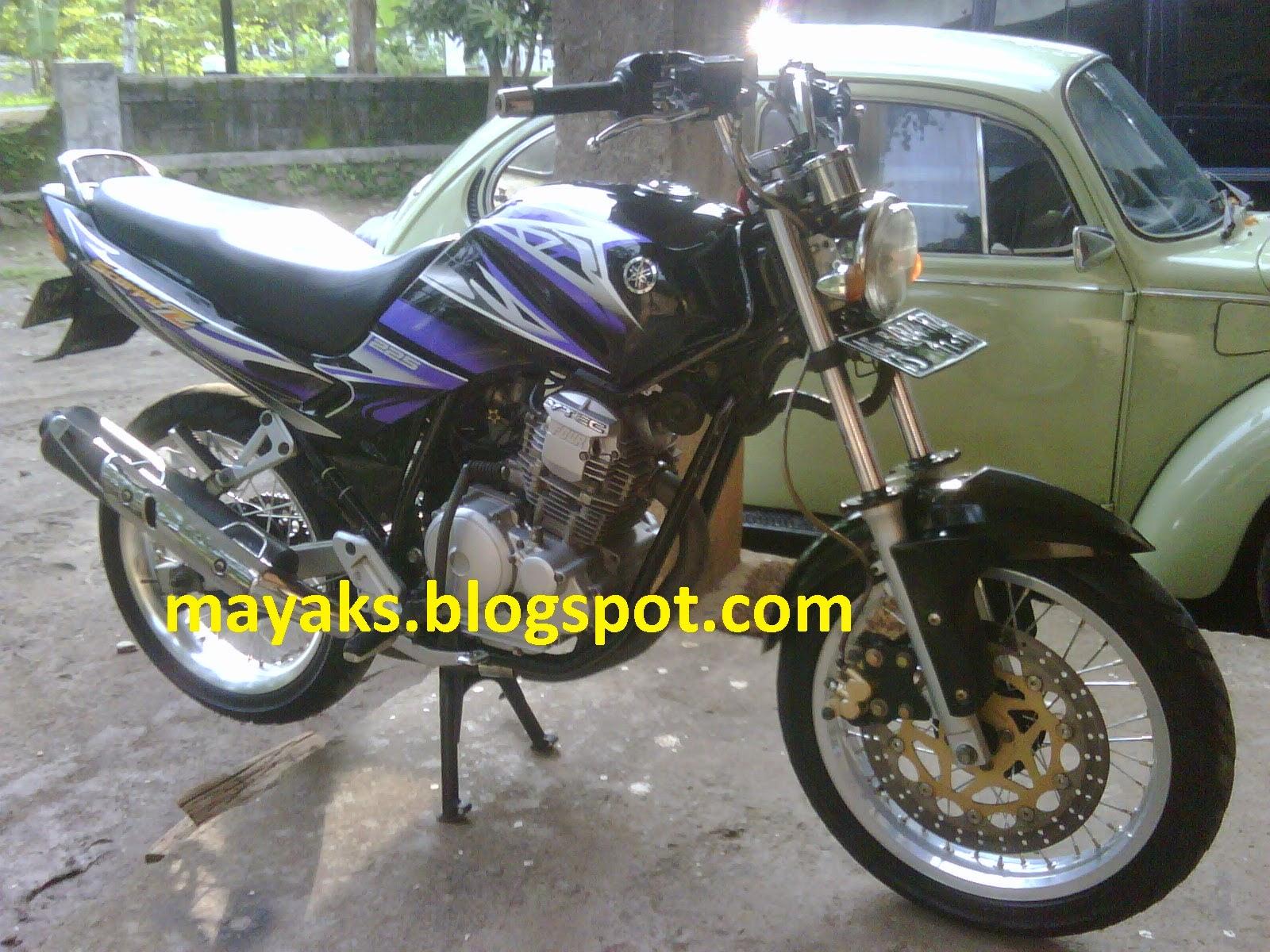 Modif Yamaha New Scorpio Z 2013