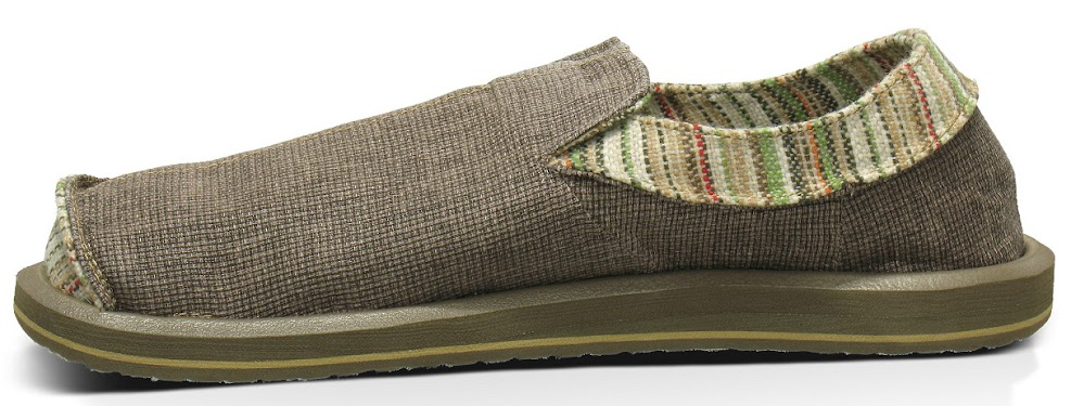 *Sanuk 左右不對稱立體:FUNK SHWAY懶人鞋! 1
