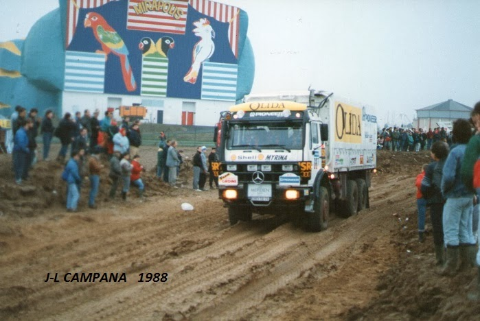 Mirapolis prologue Paris-Dakar 1988